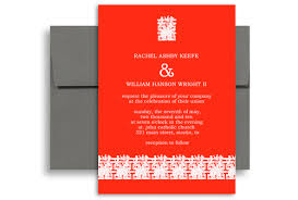 asian wedding invitations modern asian personalized wedding invitation 5x7 in