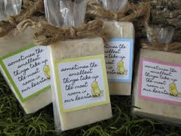 winnie the pooh baby shower favors winnie the pooh baby shower favor soap organic soap baby