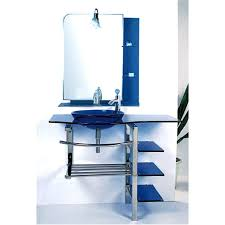 Bathroom Vanity Sink Combo by Kokols Modern Bathroom Vanity And Blue Vessel Sink Combo Set