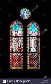 Ffg Bad Doberan Stained Glass 19th Century Window Stockfotos U0026 Stained Glass 19th