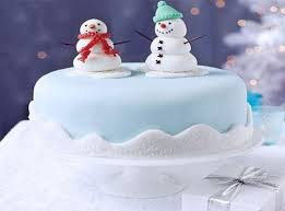 christmas cake decorating ideas with snowman decorations to make