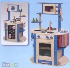 howa küche howa spielküche beidseitig bespielbar blau mit vielen details