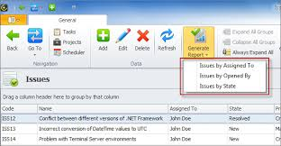 it issue report template issues database template issues reports