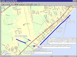 Wilmington Nc Zip Code Map by Myrtle Beach Tornadoes July 6 2001 Track Analysis