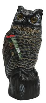 garden defense owl decoy bird deterrent