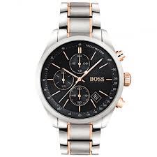 hugo boss grand prix chronograph watch 1513473 rox