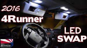 4runner fog light bulb 2016 toyota 4runner led swap youtube