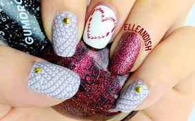 knit sweater nails stamping youtube