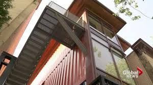 Storage Container Homes Canada - container homes to be stacked up across canada globalnews ca