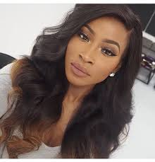 black soft wave hair styles soft waves with a touch of color wonderful ihearthair