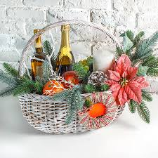 Christmas Gift Basket Christmas Gift Basket Images U0026 Stock Pictures Royalty Free