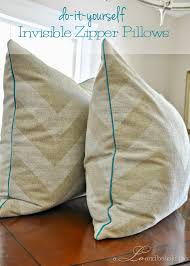 How To Make Sofa Pillow Covers Diy Pillow Cover With Piping And Zipper A Lo And Behold Life