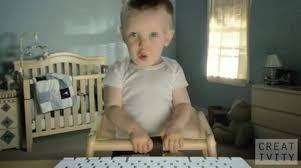 Etrade Baby Meme - e trade super bowl ad 2010 talking baby girlfriend adage