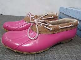womens sperry duck boots size 11 sperry top sider duck boots shoes low rubber womens 10