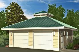 hip garage with cupola 576 sf southern cottages
