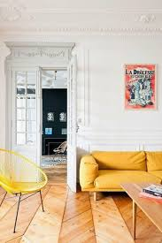 color trends lemon buttercup yellow emily henderson buttercup yellow sofa and chair