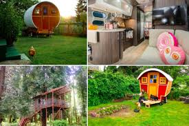 seattle u0027s coolest short term tiny rentals yurts treehouses