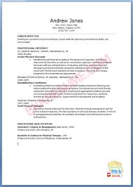 Physical Therapy Resume Examples by 28 Physical Therapy Resume Samples Physical Therapist