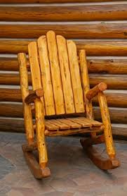 Free Patio Rocking Chair Plans by Free Log Furniture Plans