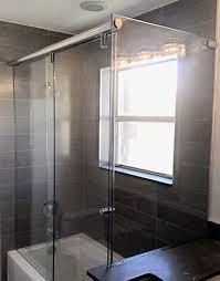 frameless sliding shower glass doors miami miami slinding shower