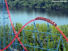 Goldrusher Six Flags Magic Mountain Six Flags New England Superman Ride Of Steel Sros13 Jpg