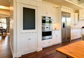 Pantry Cabinet Doors by Hidden Pantry Behind Mirrored Cabinet Door Transitional Kitchen