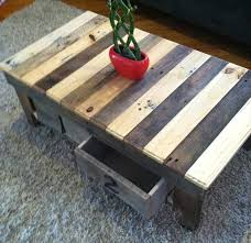Diy Wooden Pallet Coffee Table by Recycled Wood Pallet Tables Plans Ideas With Pallets
