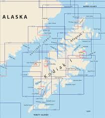 Kodiak Alaska Map by Nautical Charts For Alaskas Kodiak Island