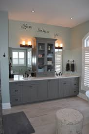Bathroom Vanity Tower by Master Bathroom With European Style Linen Tower On Quartz