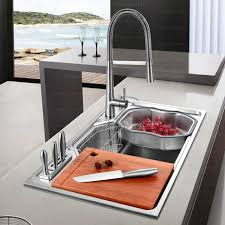 Stainless Sinks Kitchen Practical Large Capacity Single Bowl Stainless Steel Kitchen Sinks