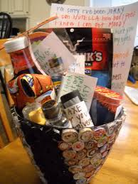 basketball gift basket snippets n stuff apology basket