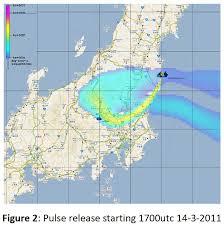 Fukushima Radiation Map 11 19 March 2011 Fukushima Radiation And Fallout Projections