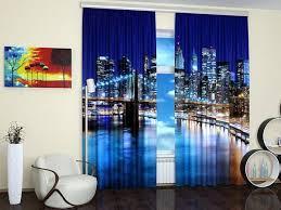 window curtains to enhance modern interior design with digital