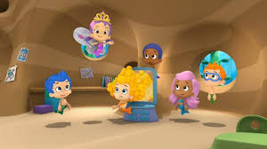 bubble guppies fin tastic collection frame walmart