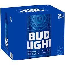 how much is a 30 pack of bud light bud light beer 20 pack 16 fl oz walmart com