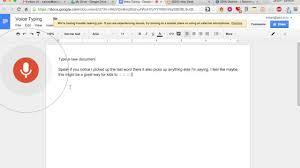 Google Drive Desk Google Docs Voice Typing Youtube
