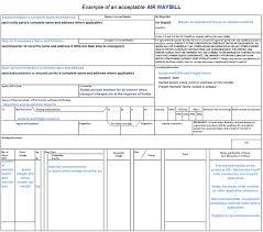 Airway Bill Template air waybill template pertamini co