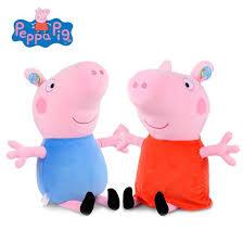 Peppa Pig Plush Peppa Pig Toys Peppa George Plush Stuffed Toys Toys N The Attic