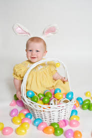 easter pictures with baby 30 easter basket ideas for babies and toddlers