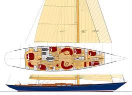 108 u0027 classic centreboard aluminum cutter sail boat designs by