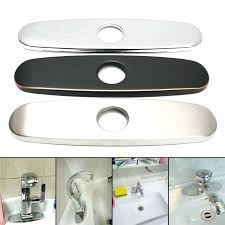 kitchen sink hole cover sink hole cover smartness kitchen sink hole cover homey 2 in almond