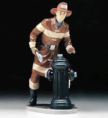 firefighter figurines the fireman lladro 01005976 professionals and sports lladro