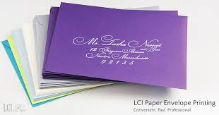 invitation printing services lci paper envelope printing and addressing services are fast