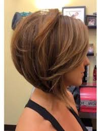 uneven bob for thick hair photo gallery of medium length inverted bob hairstyles for fine