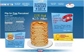 Get Free Pancakes At Participating Free Pancakes Ihop Dinedelish