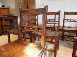 Cloverleaf Home Interiors Chairs 8 East Anglian Ash And Elm Ball Back Windsor Dining Chairs