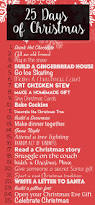 25 days of christmas activities for the entire family christmas