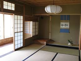 charming japanese traditional house interior design photo