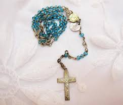rosary holder vintage rosary holder bracelet with italian crafted