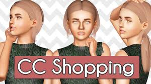 sims 3 hair custom content sims 3 custom content shopping hair clothes youtube